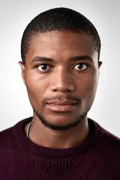 black african man